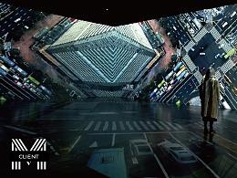 沉浸式影像空间 | 深圳市城市规划展 · 深圳城市影厅