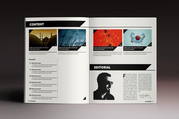 企業公司畫冊雜志模板indesign模板產品展示畫冊模板服裝秀雜志圖片