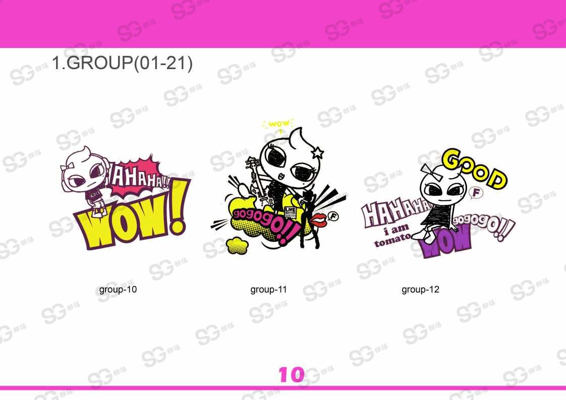 美式漫画手绘风,青少设计 猫女孩