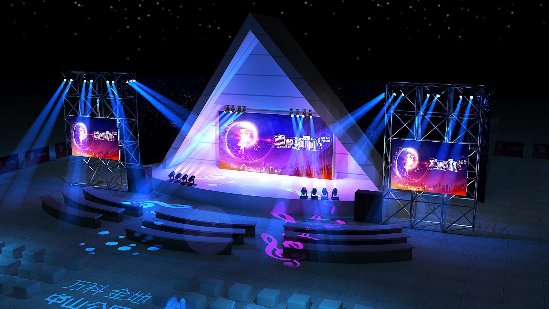 儿童音乐节舞台图片