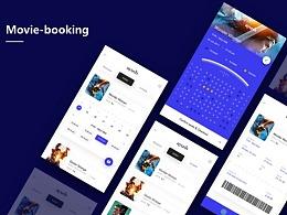 电影票APP原型设计分享– Movie Booking
