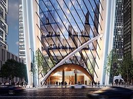 Modern abnormity building 建筑表现