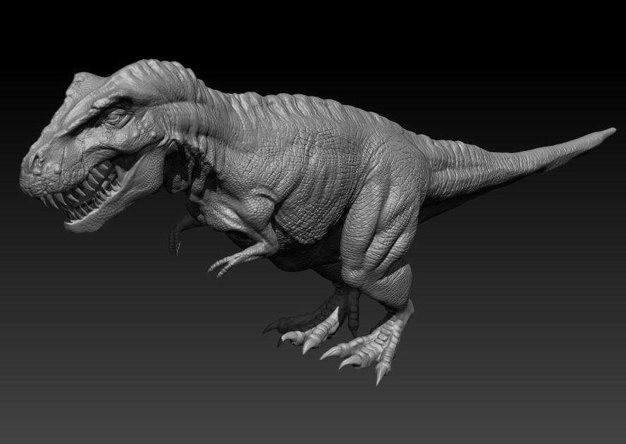 范例-恐龙3d