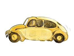 很黄的大黄蜂开车