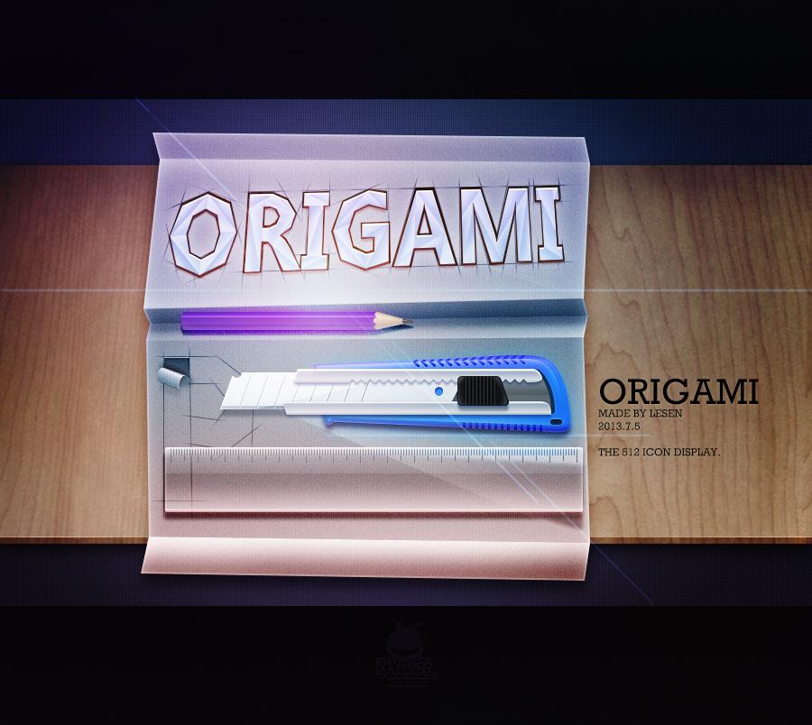 查看《Origami》原图,原图尺寸:900x804