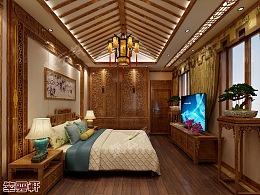 卧室中式设计中式装修