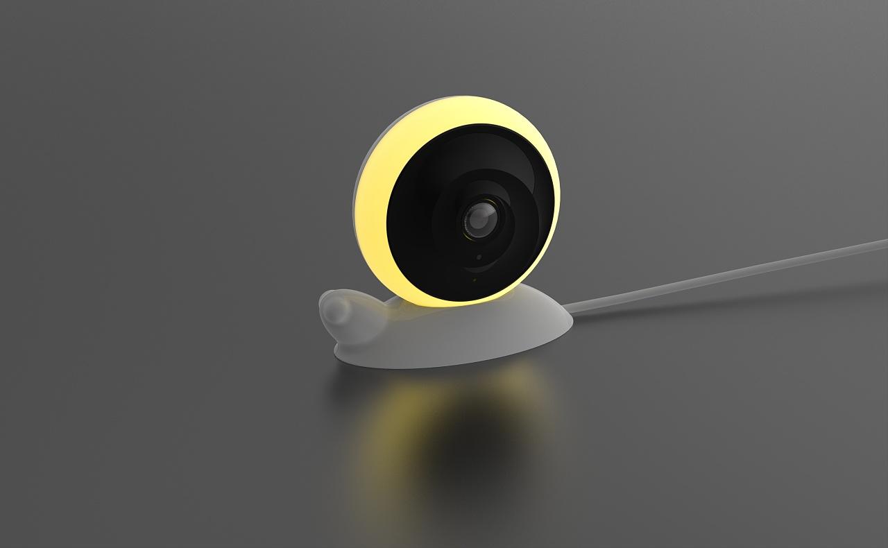 智能家居360度全景小夜灯监控摄像头|工业\/产