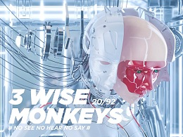 3不猴-three wise monkeys