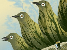 群鸟的晨林