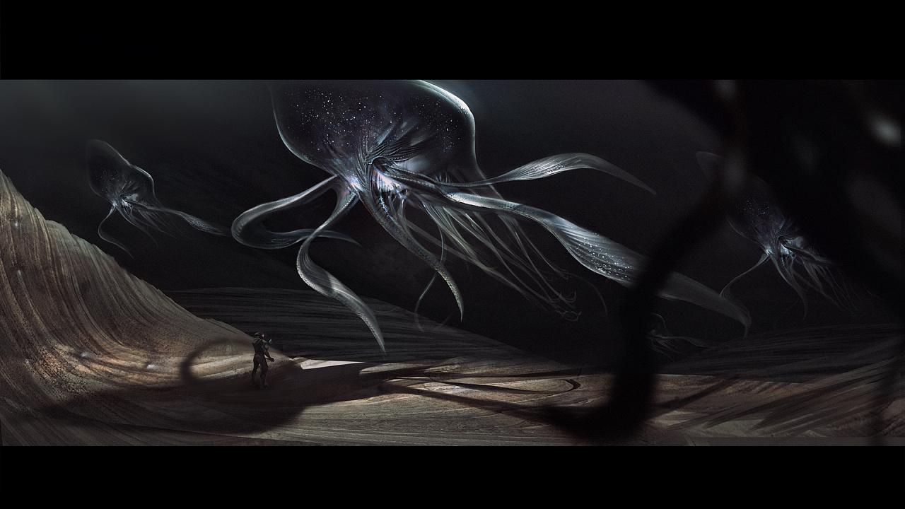 人类探索宇宙的意义_无知与未知|插画|概念设定|MVEIGHT - 原创作品 - 站酷 (ZCOOL)