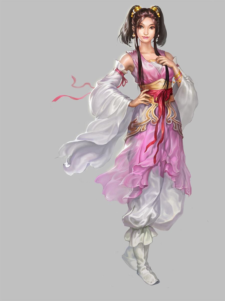 中国风人物原画|游戏原画|插画|liluojia56