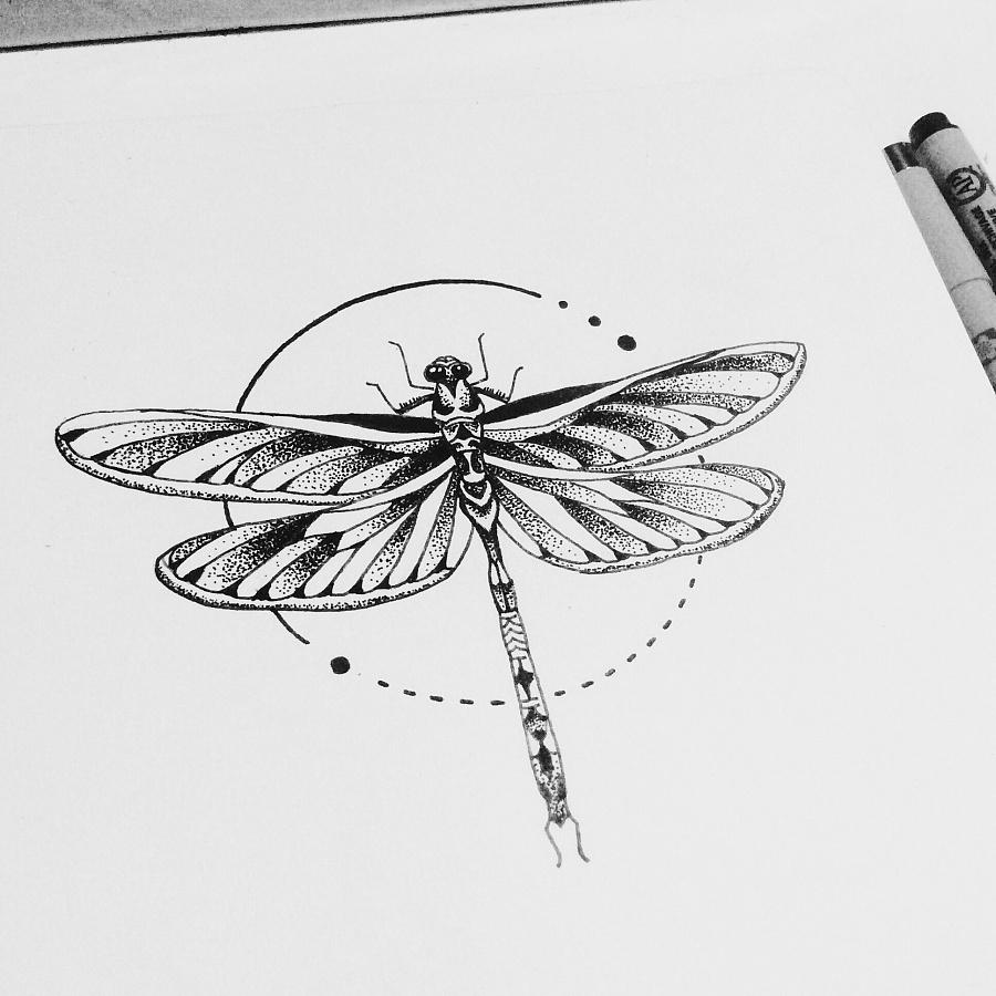 老徐的纹身手稿-黑白|涂鸦/潮流|插画|兔子老徐