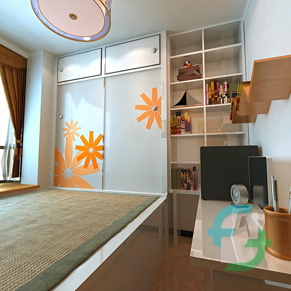 卧室空间设计|空间|室内设计|597987734 - 原创作品