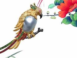 这位设计师把珠宝做的美醉了,看图都是一种享受!