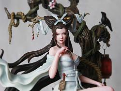 JMTC原创中国风《异闻志》系列第二款《小倩》雕像