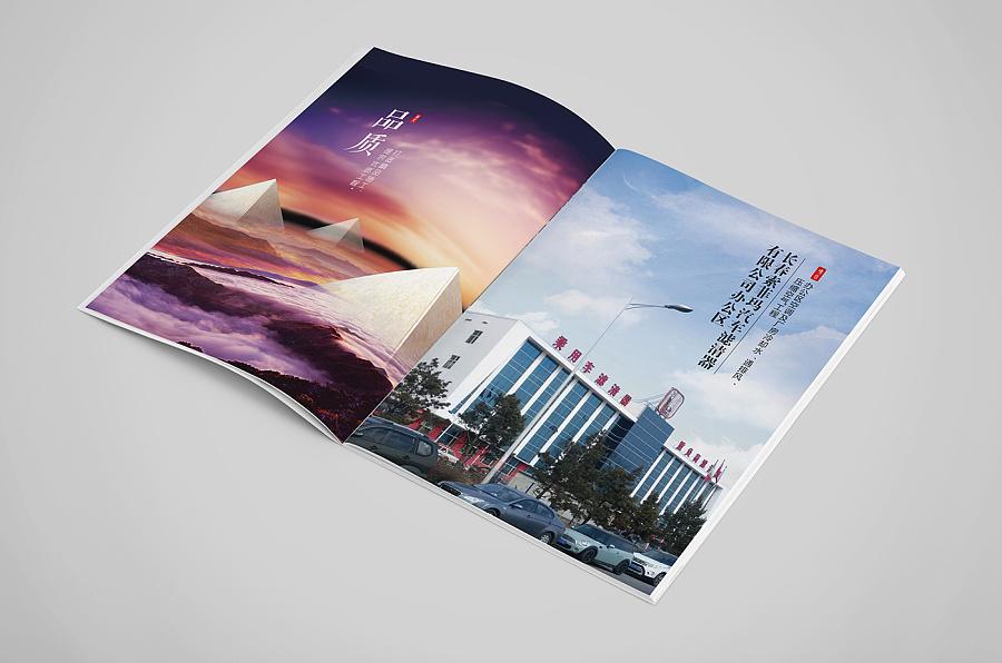 建筑机电行业画册|王妃/原版|画册|兰陵书装-平面式v行业三角形psd图片