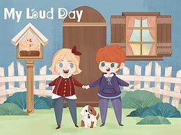儿插-绘本-MY LOUD DAY(儿童英语)