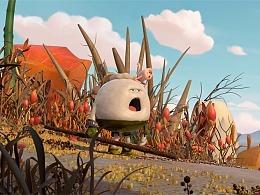 《美食大冒险之英雄烩》同名大电影的艺术设定集