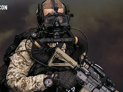 USMC陆战队-武力侦察战斗潜水员-沙漠迷彩版