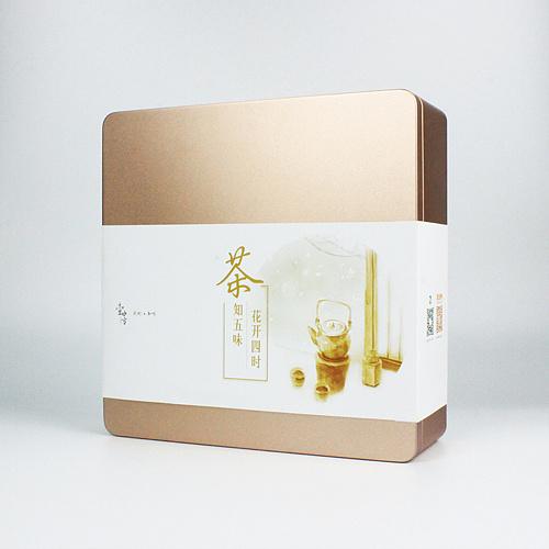【壹水方】四季礼盒 水彩手绘 茶叶包装设计