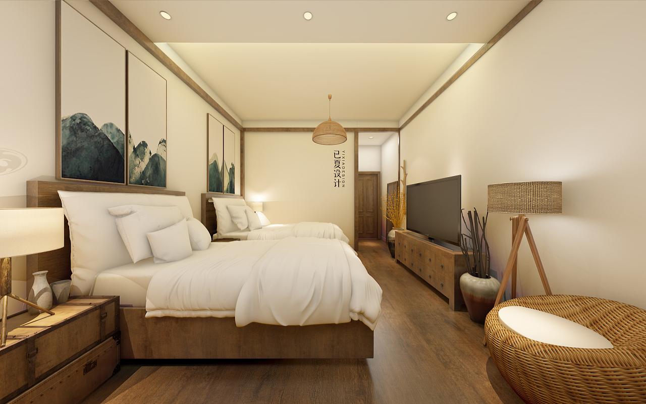 民宿|空间|室内设计|已夏设计 - 原创作品 - 站酷