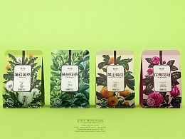 【徽小生·珠兰花·蒲公英】花茶包装 by 澜帝品牌设计