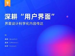 """深耕""""用戶界面""""(下篇)- 界面設計科學化內容傳達"""