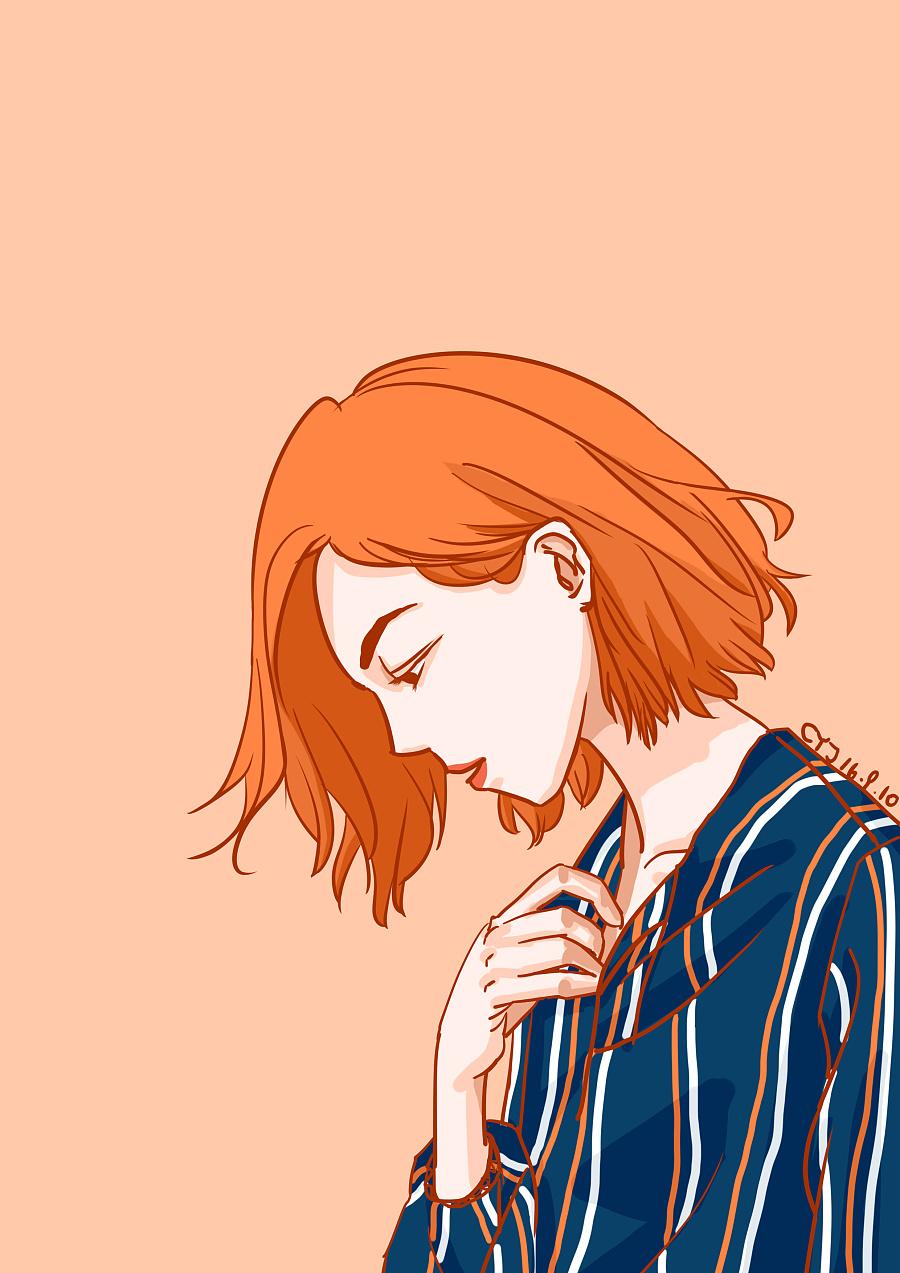 短发女生系列练习