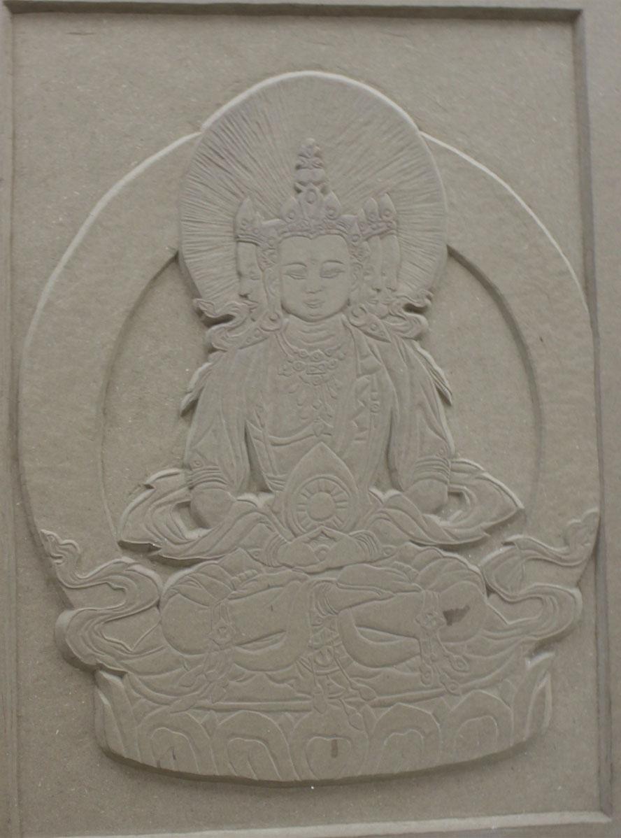 藏传佛像雕刻|其他手工|手工艺|云诺子扬