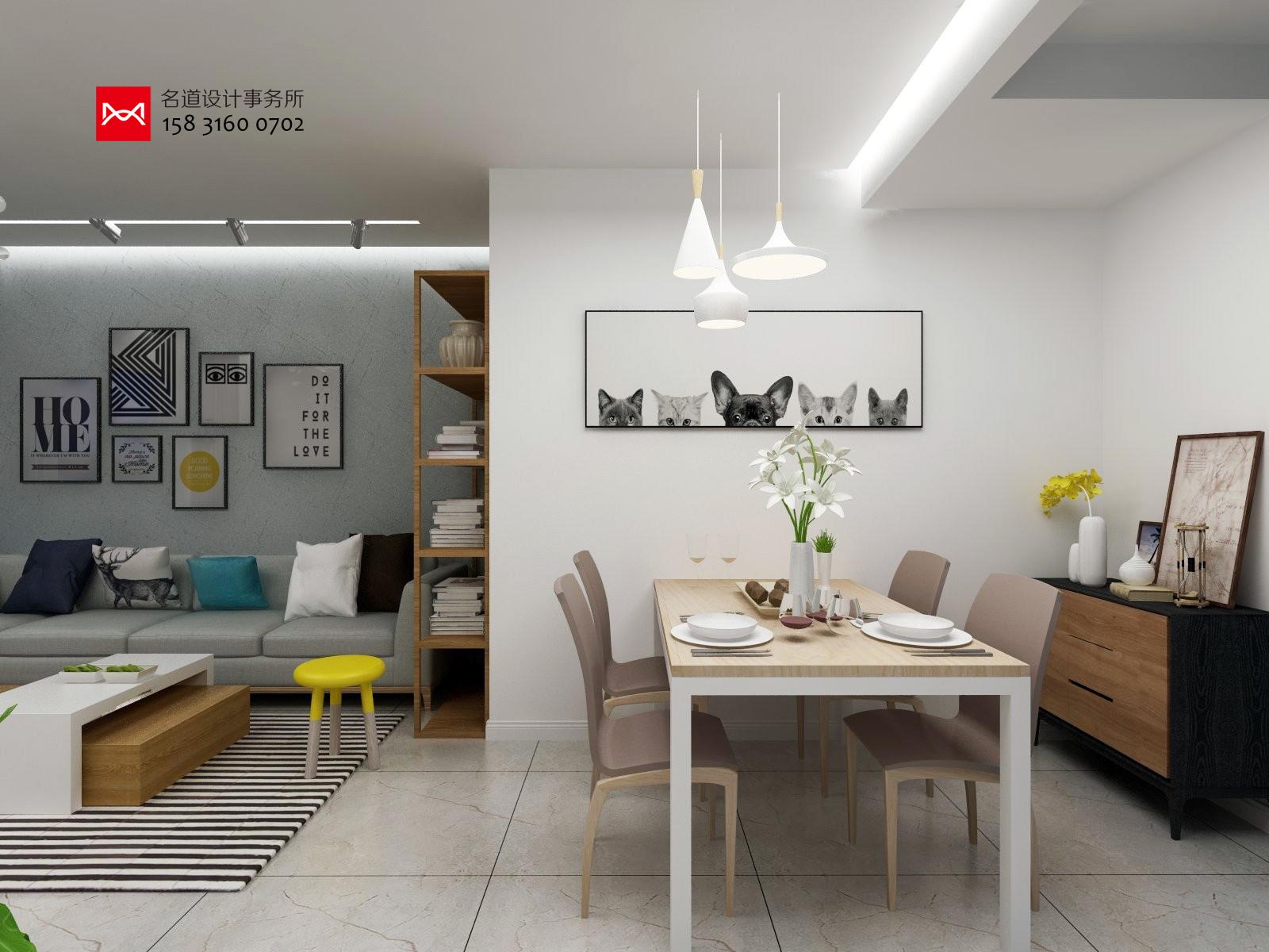 最新室内设计案例三室两厅两卫110平米廊坊文安御龙景观设计师公园家园快题v案例图片