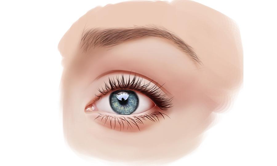 手绘练习-眼睛|绘画习作|插画|sixilzy - 原创设计