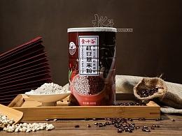 北斗-红豆薏米粉 五谷杂粮拍摄