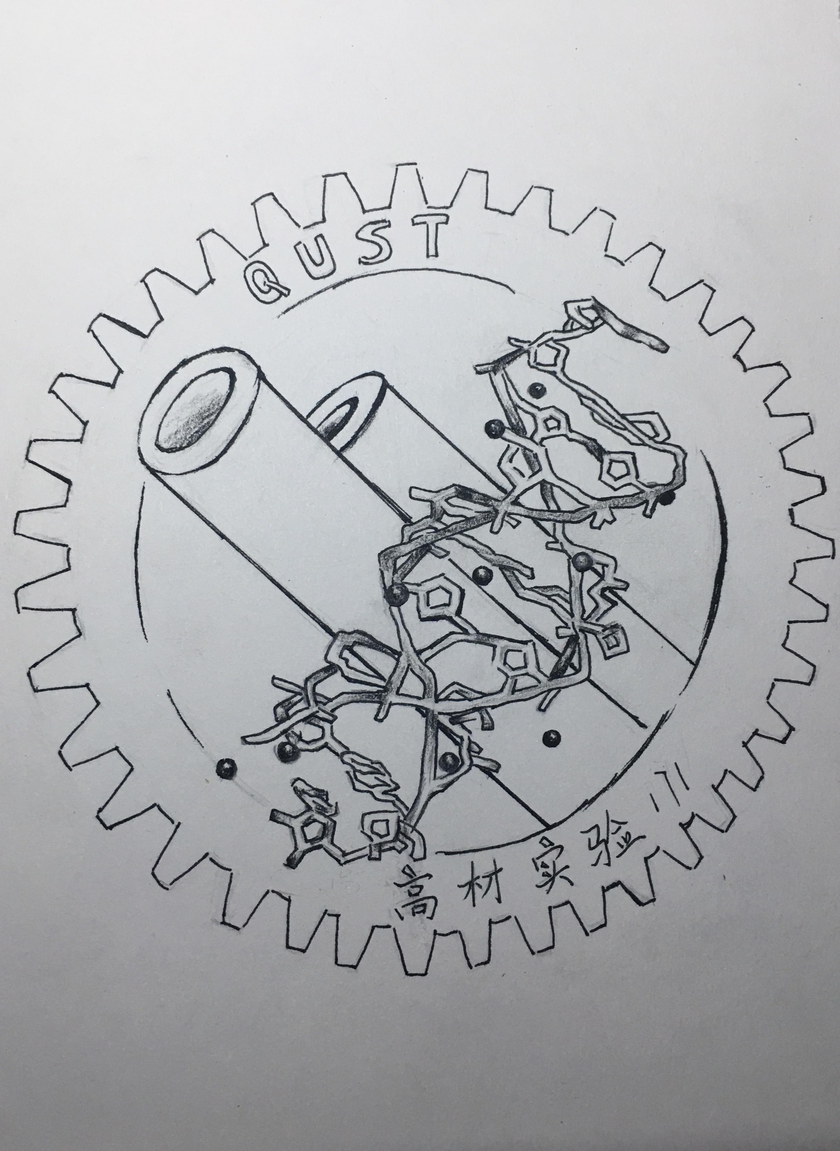 怎样设计手绘班徽