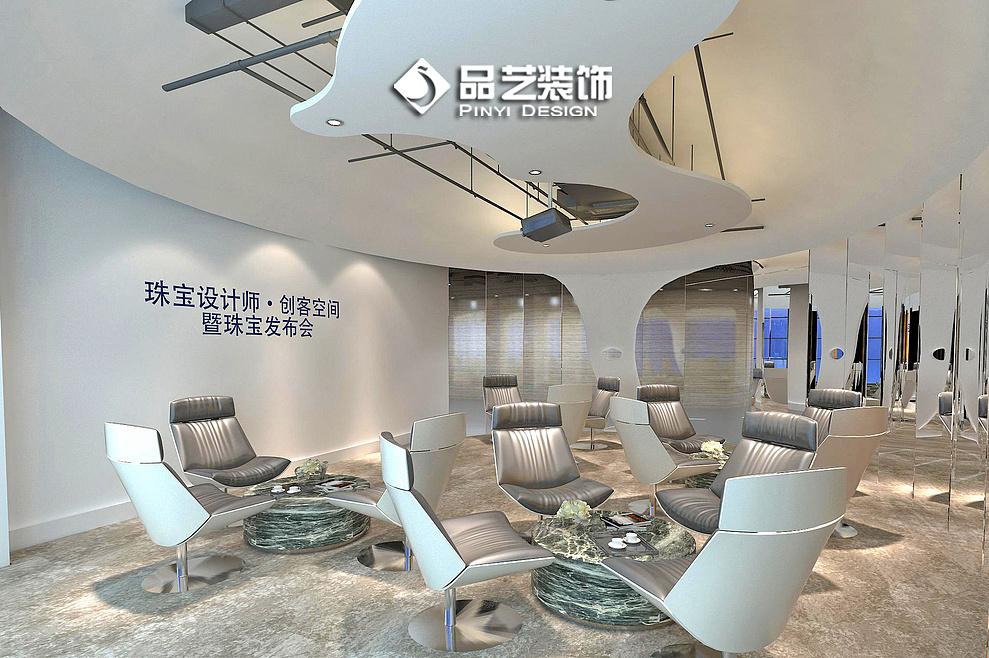 创客中心 威客孵化基地空间装修设计效果图图片
