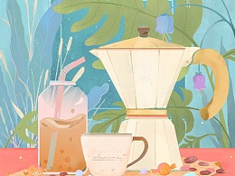 个人作品——咖啡时间