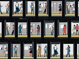 纽约地铁与读书
