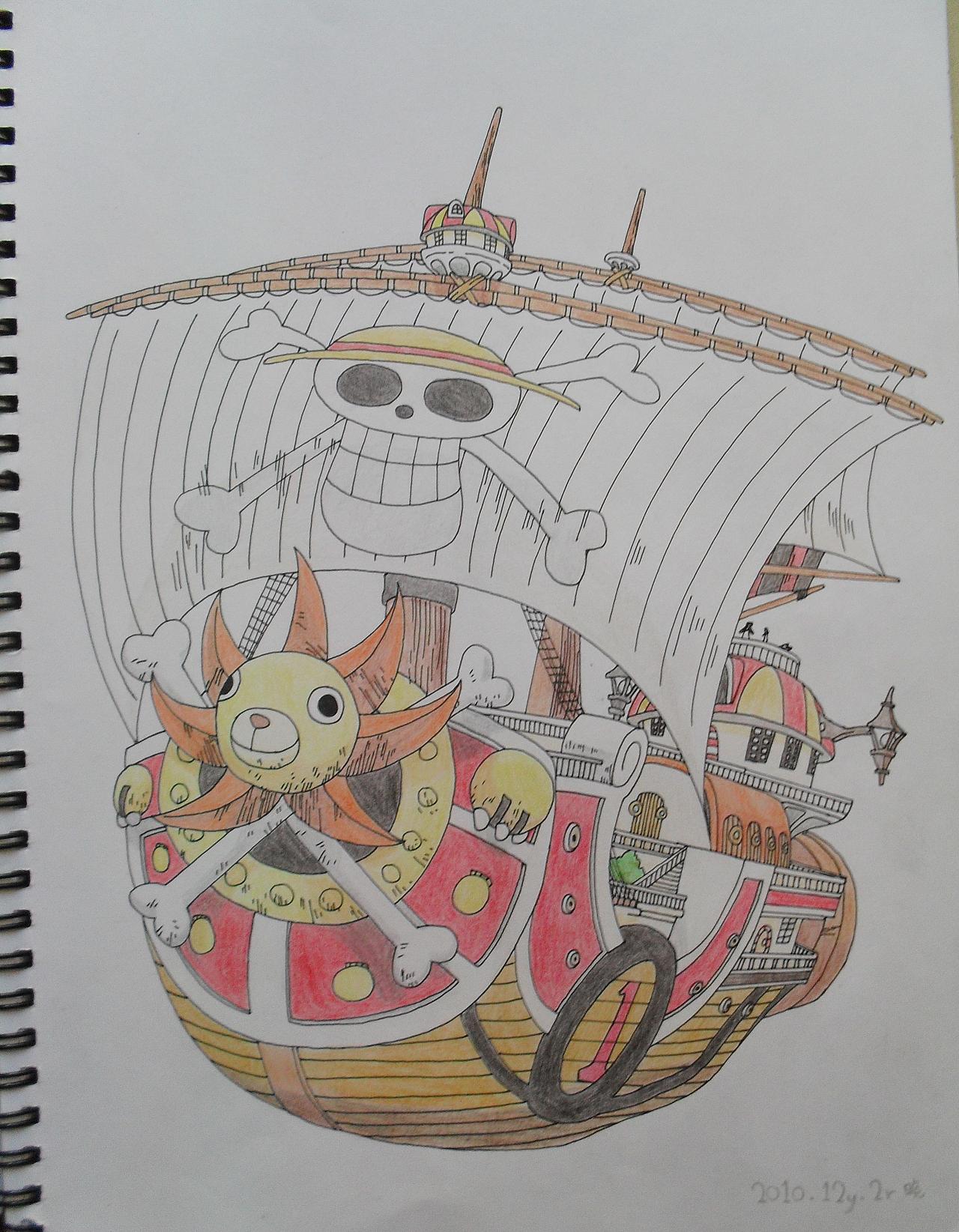 海贼王手绘