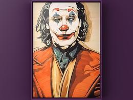 马克笔手绘——《JOKER》