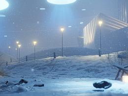 【虚幻4】 雪 Snow Crash