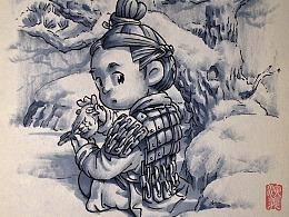 (演义秦风)中国节气——大雪