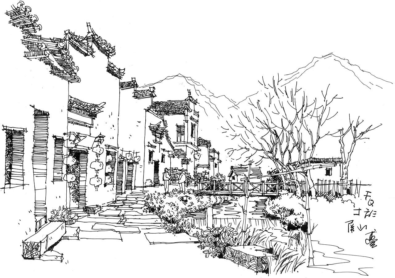 手绘古徽州·中国画里的世外桃源2