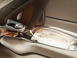 汽车中控扶手区创新设计