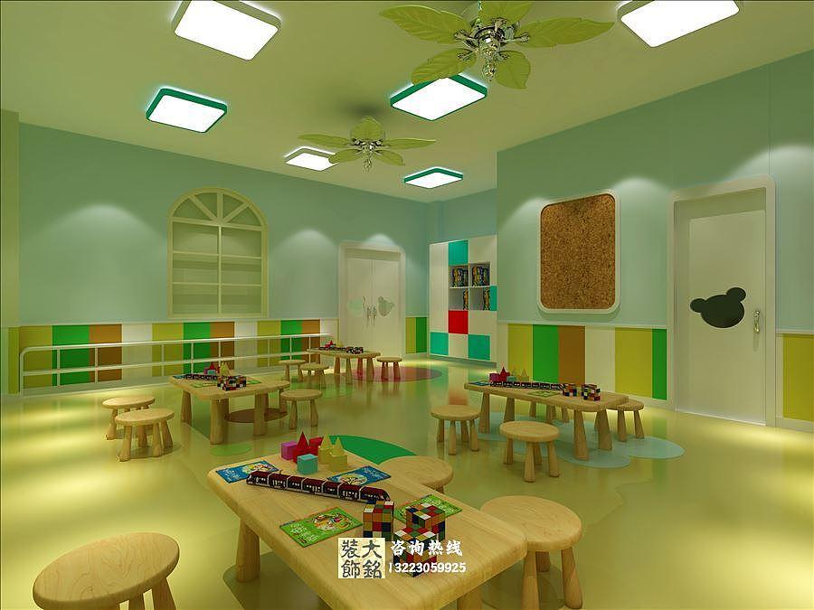 幼儿园设计_郑州雅思幼儿园设计装修方案_幼儿园装修公司