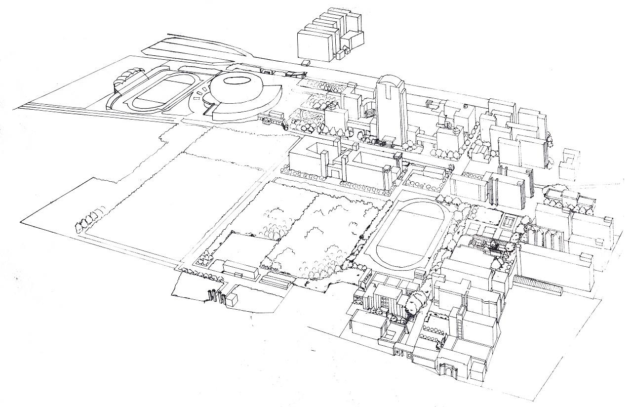 《手绘邢院》手绘地图设计