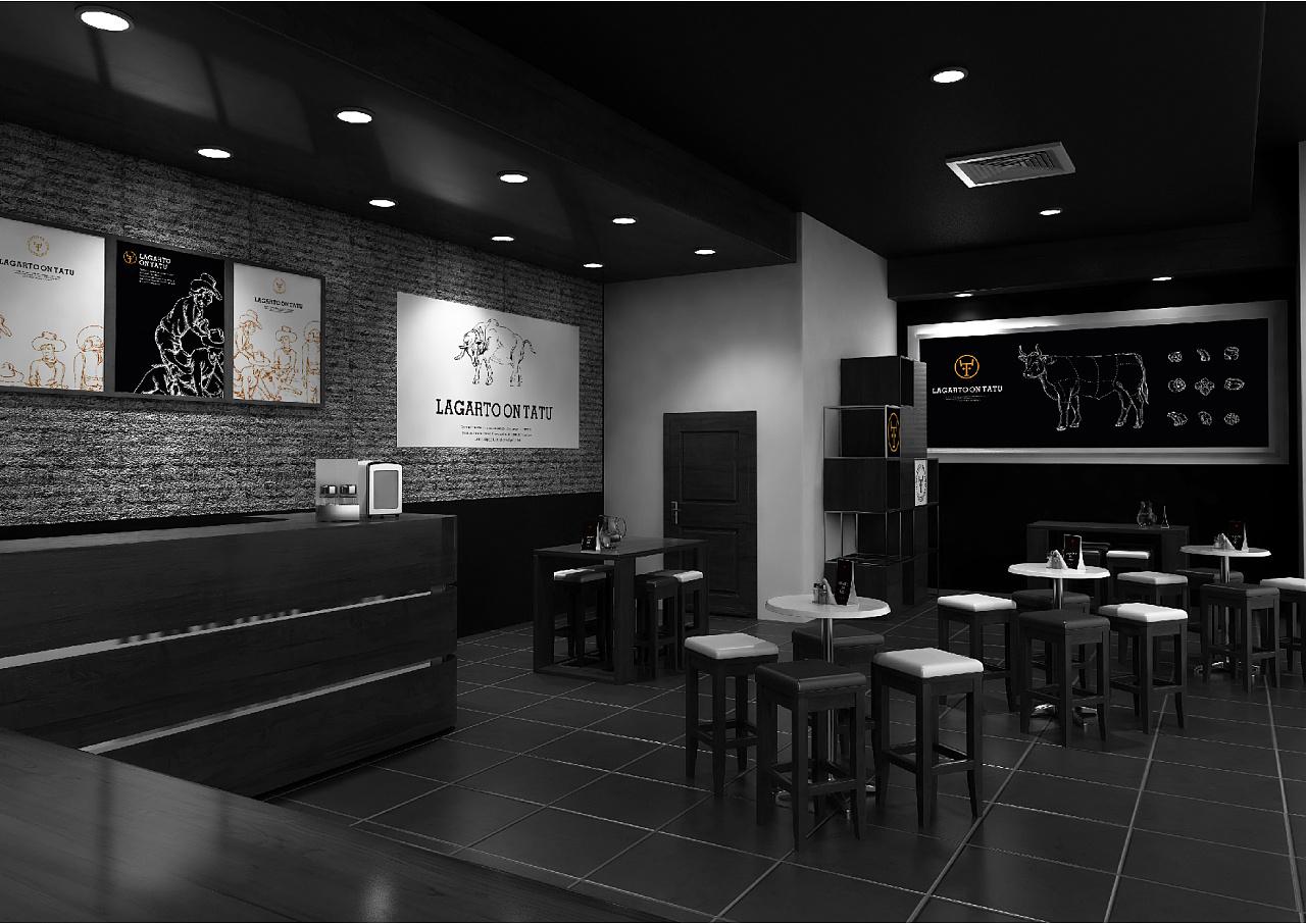 佧罗烤肉西餐厅品牌设计图片