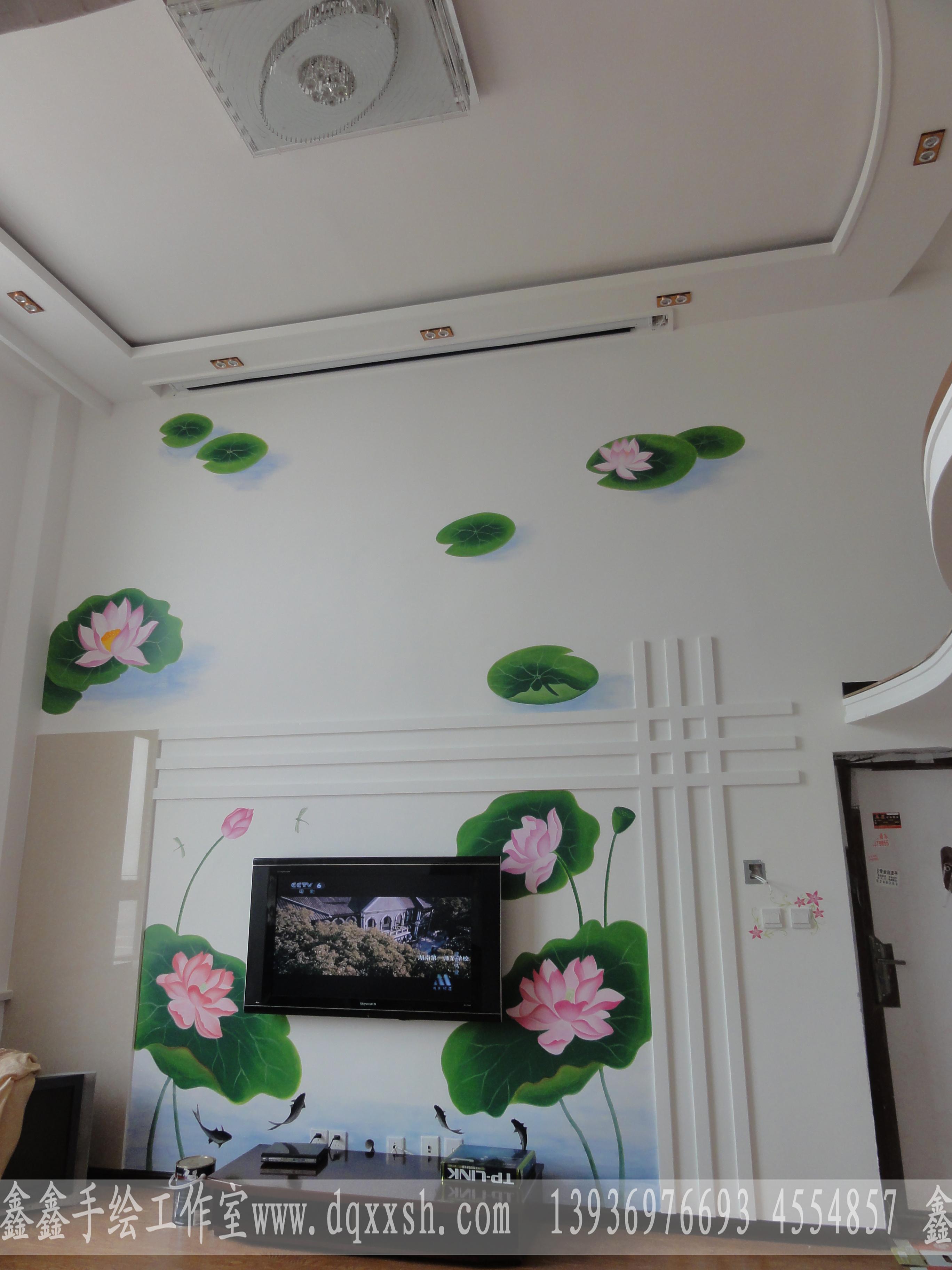 大庆墙体手绘案例欣赏
