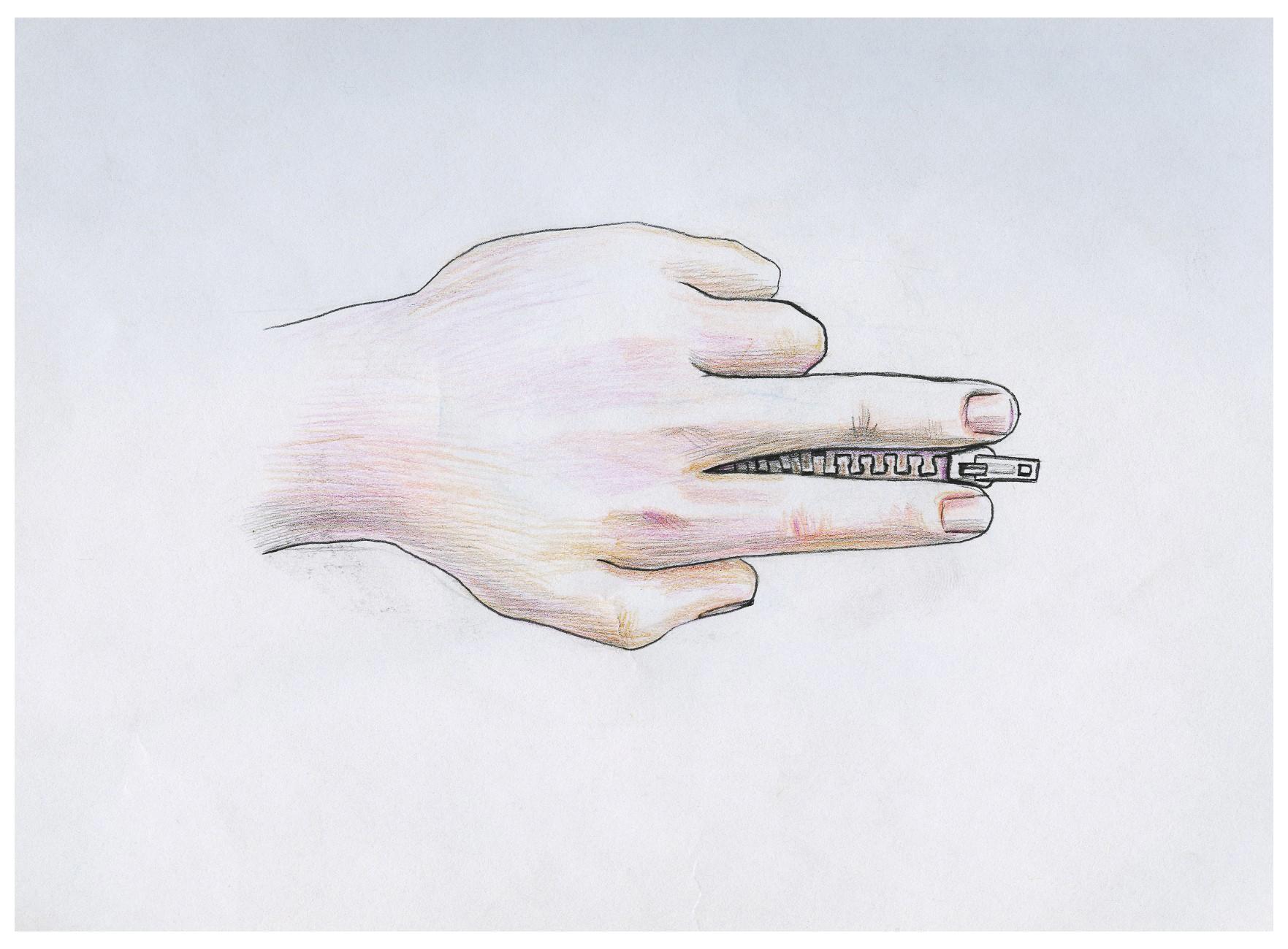 创意联想之《手的异形》图片