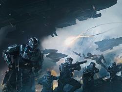 《溶解》科幻游戏概念图