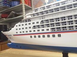 欧罗巴游轮模型