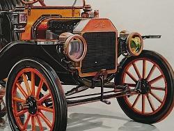 百年历史平民车Ford  T型车